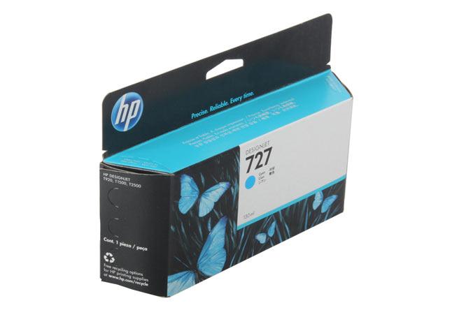 Картридж 727 для HP DJ T920/T1500 (O) B3P19A, Cyan, 130 мл