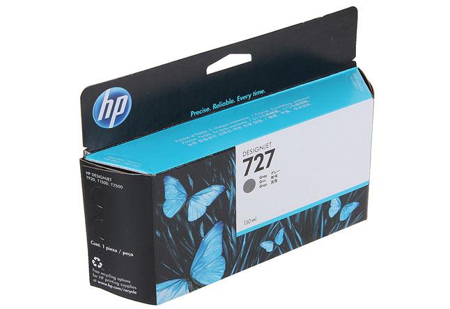Картридж 727 для HP DJ T920/T1500 (O) B3P24A, Grey, 130 мл