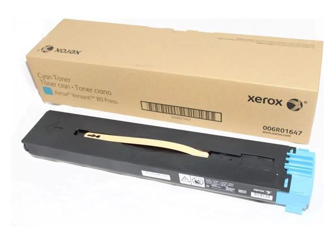 Тонер-картридж Xerox Versant 80/180 (О) синий  006R01647