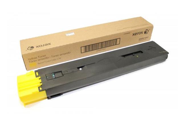 Тонер-картридж Xerox Color C60/C70, 34К (О) жёлтый 006R01662