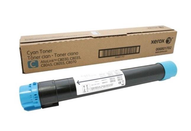 Тонер-картридж XEROX AltaLink C8030/35/45/55/70, 15К (О) голубой 006R01702