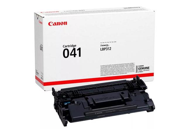 Тонер-картридж 041 BK для Canon LBP312x, 10К (О) 0452C002