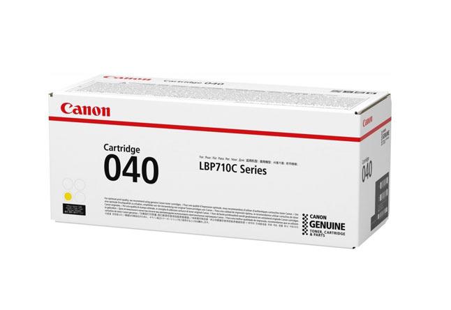 Тонер-картридж 040 Y Canon i-SENSYS LBP712Cx 5.4К (О) жёлтый 0454C001