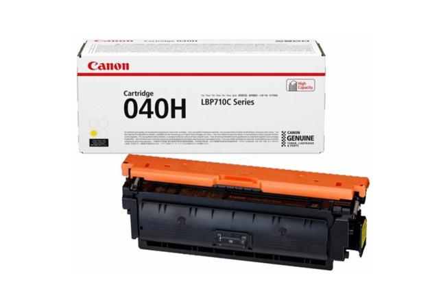 Тонер-картридж 040H Y Canon i-SENSYS LBP712Cx 10К (О) жёлтый 0455C001