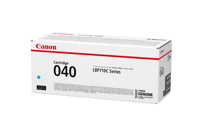 Тонер-картридж 040 C Canon i-SENSYS LBP712Cx 5.4К (О) голубой 0458C001