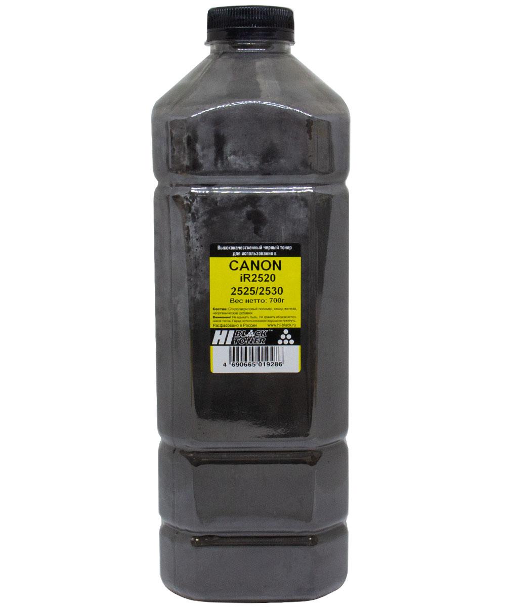 Тонер Hi-Black для Canon iR 2520/2525/2530, Bk, 700 г, канистра