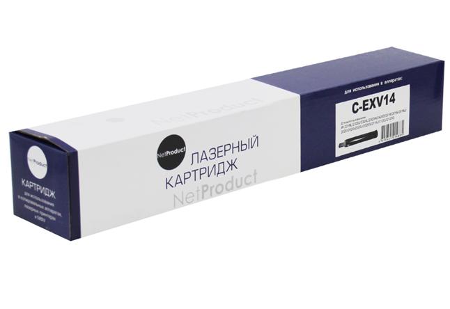 Тонер-картридж NetProduct (N-C-EXV14) для Canon iR-2016/2018/2020/2022/2025, туба, 8,3K