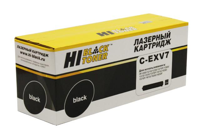 Тонер-картридж Hi-Black (HB-C-EXV7) для Canon iR-1210/1230/1270/1510, туба, 5,3K