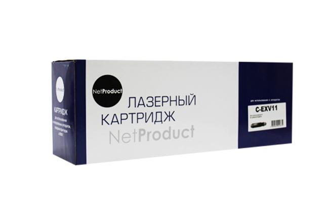 Тонер-картридж NetProduct (N-C-EXV11) для Canon iR-2230/2270/2870, туба, 19,5K
