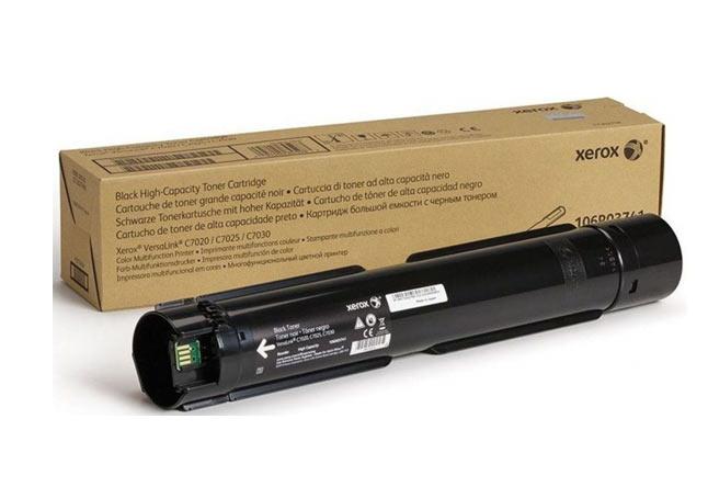 Тонер-картридж XEROX VersaLink C7020/7025/7030, 23,6К (О) чёрный 106R03745