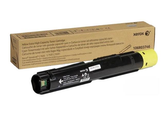 Тонер-картридж XEROX VersaLink C7020/7025/7030, 16,5К (О) желтый 106R03746