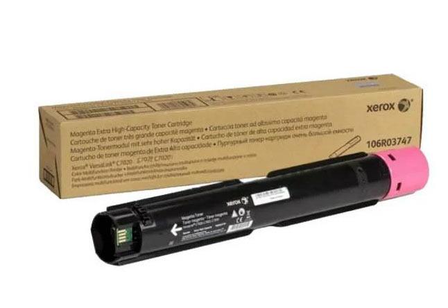 Тонер-картридж XEROX VersaLink C7020/7025/7030, 16,5К (О) пурпурный 106R03747