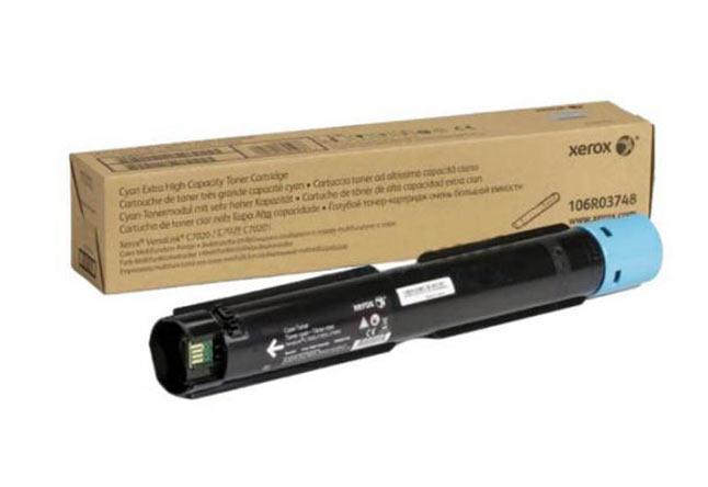 Тонер-картридж XEROX VersaLink C7020/7025/7030, 16,5К (О) голубой 106R03748