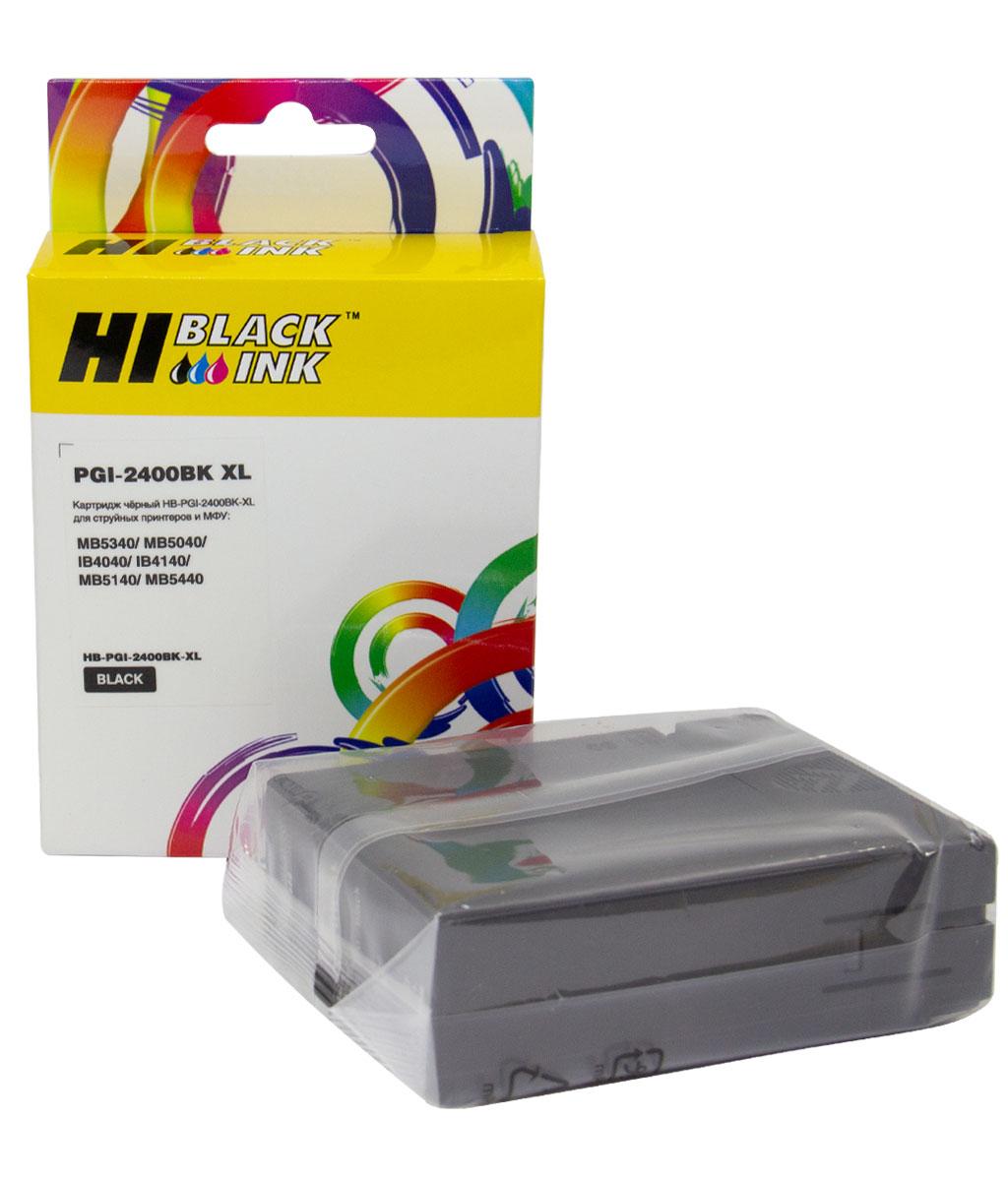 Картридж Hi-Black (PGI-2400XLBK) для Canon MAXIFY iB4040/ МВ5040/ МВ5340, Black