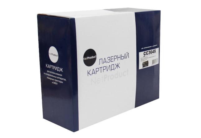 Картридж NetProduct (N-CC364X) для HP LJ P4015/P4515, 24K