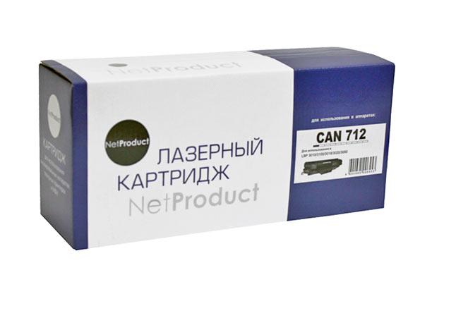 Картридж NetProduct (N-№712) для Canon LBP-3010/3100, 1,5K