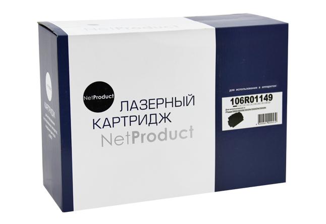 Картридж NetProduct (N-106R01149) для Xerox Phaser 3500, 12K