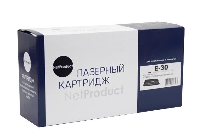 Картридж NetProduct (N-E-30) для Canon FC 200/210/220/230/330, 4K