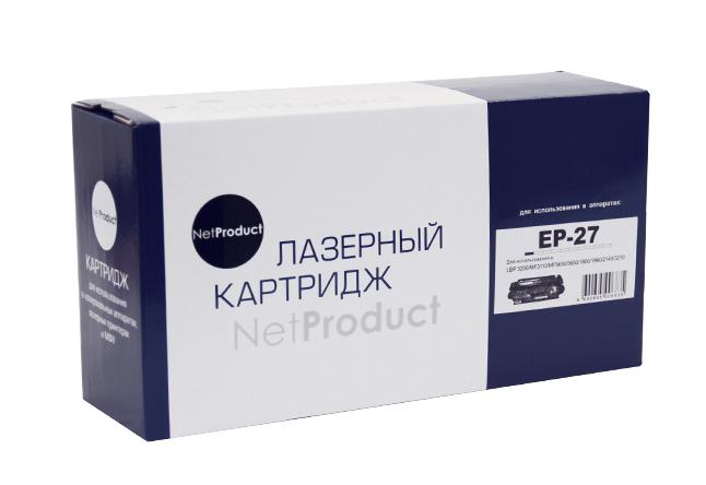 Картридж NetProduct (N-EP-27) для Canon MF 3110/3228/3240/LBP3200, 2,5K