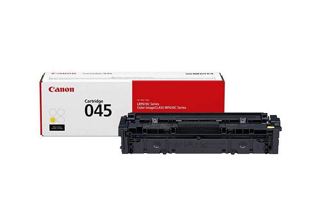 Тонер-картридж 045 Y Canon LBP610, Color iC MF630C, 1.3К (О) жёлтый 1239C002