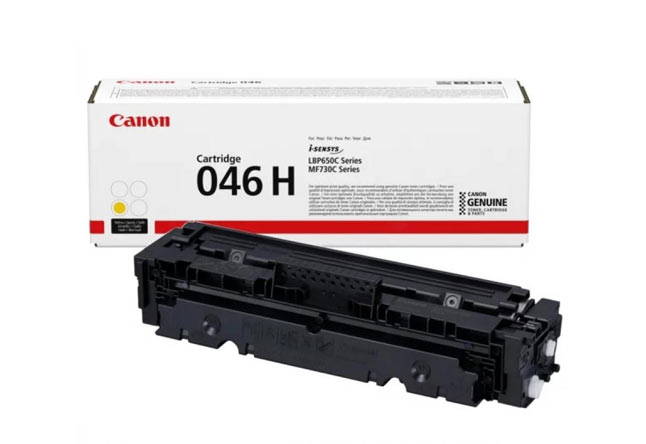 Тонер-картридж 046H Y Canon i-SENSYS LBP650, MF730, 5К (О) желтый 1251C002