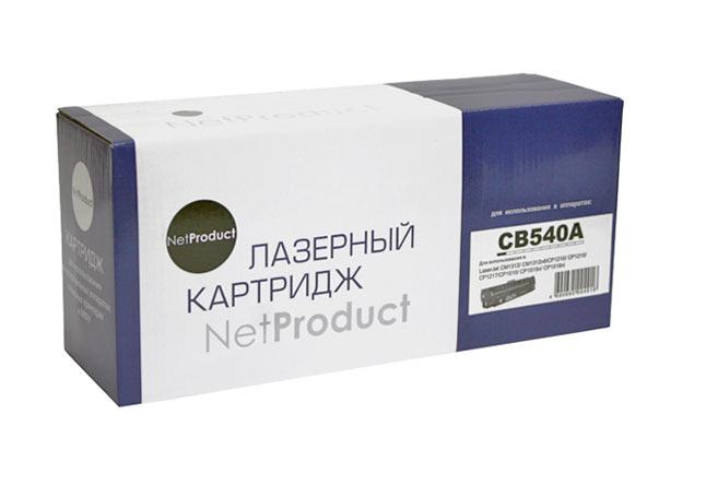 Картридж NetProduct (N-CB540A) для HP CLJ CM1300/CM1312/CP1210/CP1215, Bk, 2,2K