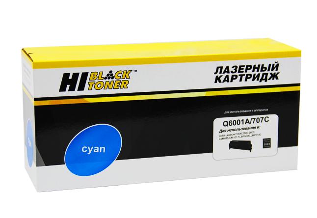 Картридж Hi-Black (HB-Q6001A) для HP CLJ 1600/2600/2605, Восстановленный, C, 2K
