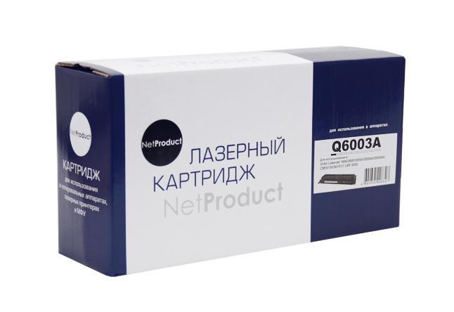 Картридж NetProduct (N-Q6003A) для HP CLJ 1600/2600/2605, Восстановленный, M, 2K