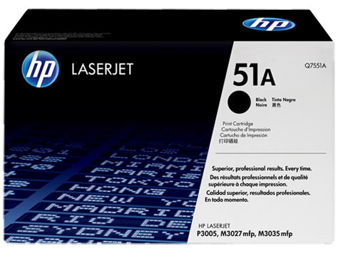 Картридж 51A для HP LJ P3005/M3027MFP/M3035MFP, 6,5К (O) Q7551A