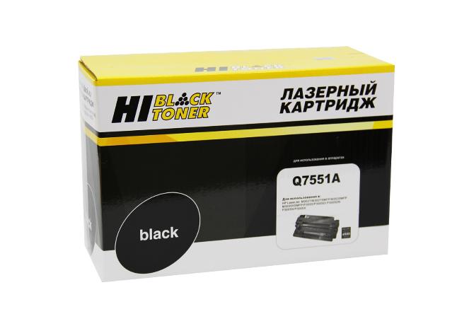 Картридж Hi-Black (HB-Q7551A) для HP LJ P3005/M3027MFP/M3035MFP, 6,5K