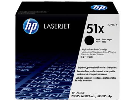 Картридж 51X для HP LJ P3005/M3027MFP/M3035MFP, 13K (O) Q7551X