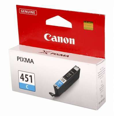 Картридж Canon PIXMA iP7240/MG6340/MG5440 (O) CLI-451C, C