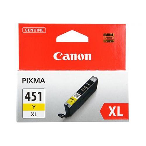 Картридж Canon PIXMA iP7240/MG6340/MG5440 (O) CLI-451XLY, Y