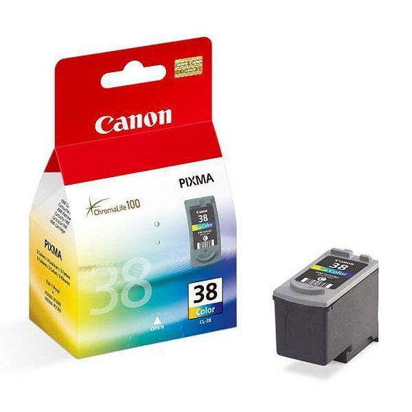 Картридж Canon PIXMA iP1800/2500/MP140/MX300 (O) CL-38, Color
