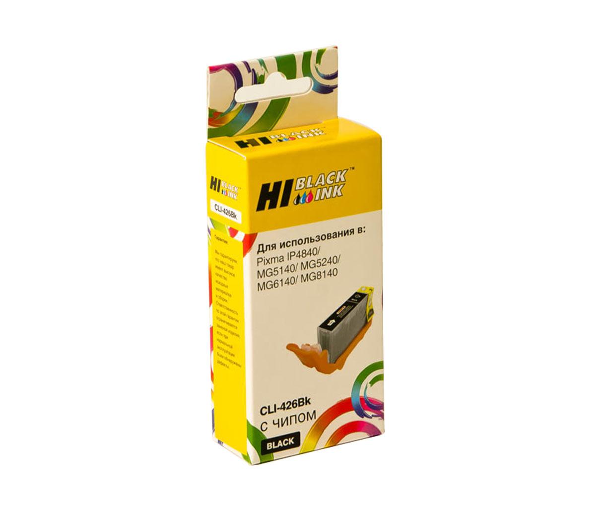 Картридж Hi-Black (HB-CLI-426Bk) для Canon PIXMA MG5140/5240/6140/8140, Bk