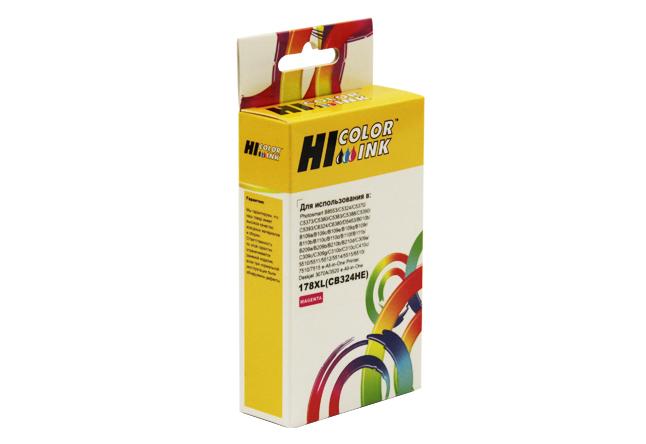 Картридж Hi-Black (HB-CB324HE) для HP Photosmart C5383/C6383/B8553/D5463, №178XL, M
