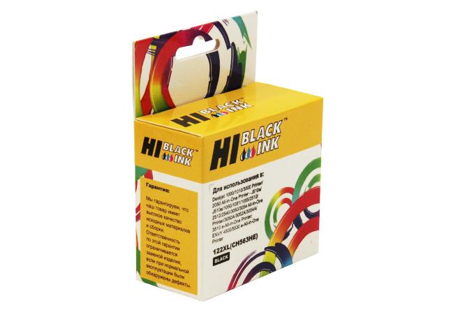 Картридж Hi-Black (HB-CH563HE) для HP DJ 1050/2050/2050S, №122XL, Bk