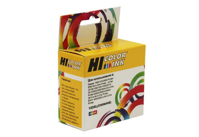Картридж Hi-Black (HB-CH564HE) для HP DJ 1050/2050/2050S, №122XL, Color