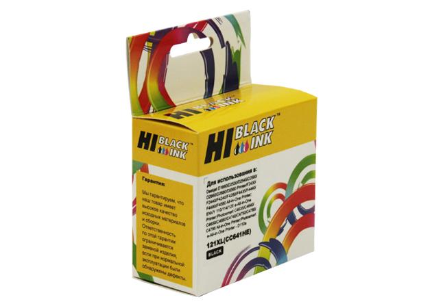 Картридж Hi-Black (HB-CC641HE) для HP DJ F4283/D2563, №121XL, Bk