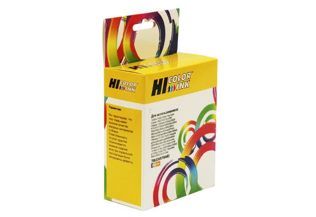 Картридж Hi-Black (HB-C6578) для HP DJ 970/1000/1100, №78, Color