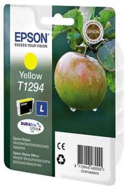 Картридж Epson Stylus SX230/235W/SX420W/SX425W/BX305F (O) C13T12944011/C13T12944012, Y