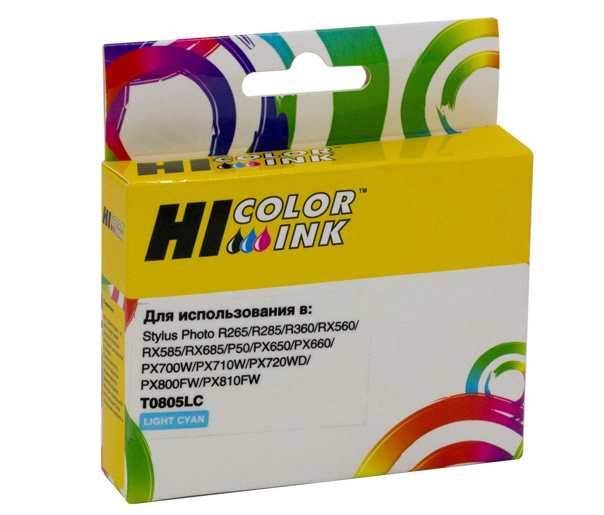 Картридж Hi-Black (HB-T0805) для Epson Stylus Photo P50/PX660/700W/800FW/R265, LC