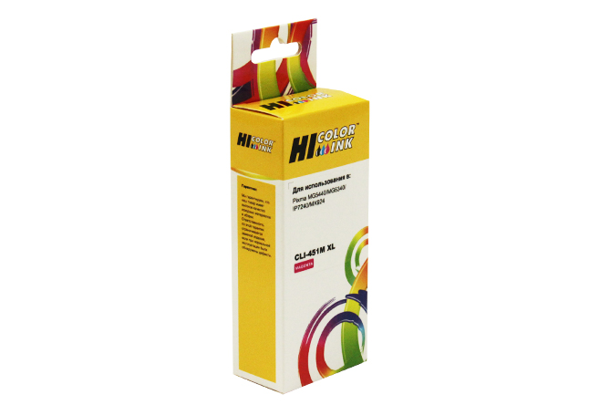 Картридж Hi-Black (HB-CLI-451XL-M) для Canon PIXMA iP7240/MG6340/MG5440, M