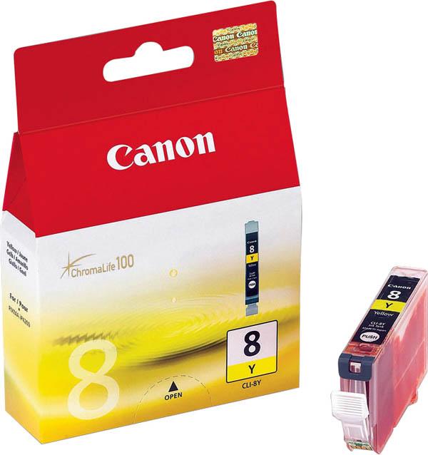 Картридж Canon PIXMA iP4200/iP6600D/MP500 (O) CLI-8Y, Y
