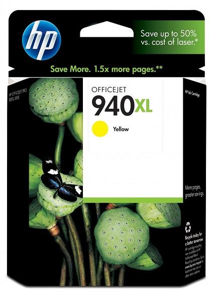 Картридж 940XL для HP Officejet Pro 8000/8500 1,4К (O) C4909AE, Y