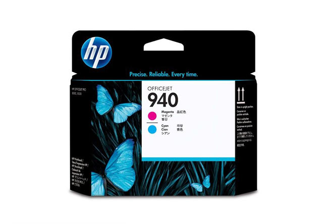 Печатающая головка 940 для HP Officejet Pro 8000/8500 (О) Magenta and Cyan C4901A