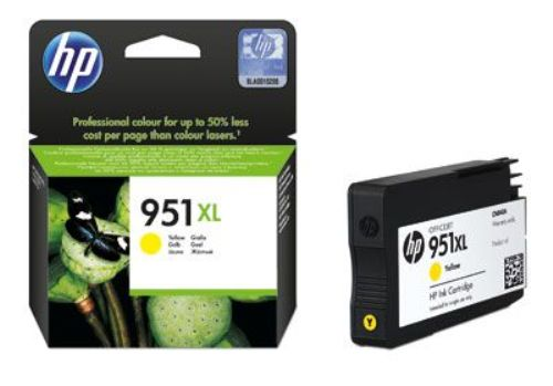 Картридж 951XL для HP Officejet Pro 8100/8600,1,5К (O) CN048AE Y