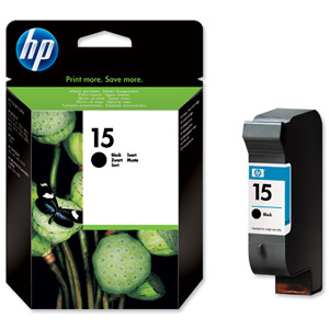 Картридж 15 для HP DJ 810C/816C/825C/840C/3810/3816, 0,5К (O) C6615DE,BK