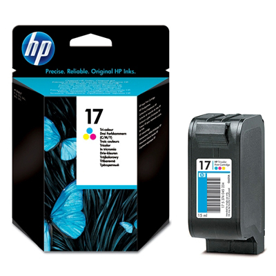 Картридж 17 для HP DJ 816C/825C/840C/843C/845C, 0,480К (O) C6625A, Color