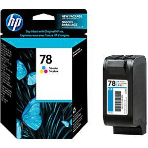 Картридж 78 HP DJ 9xxC/PhotoSmart 1xxx, 0,560К (О) C6578D Color